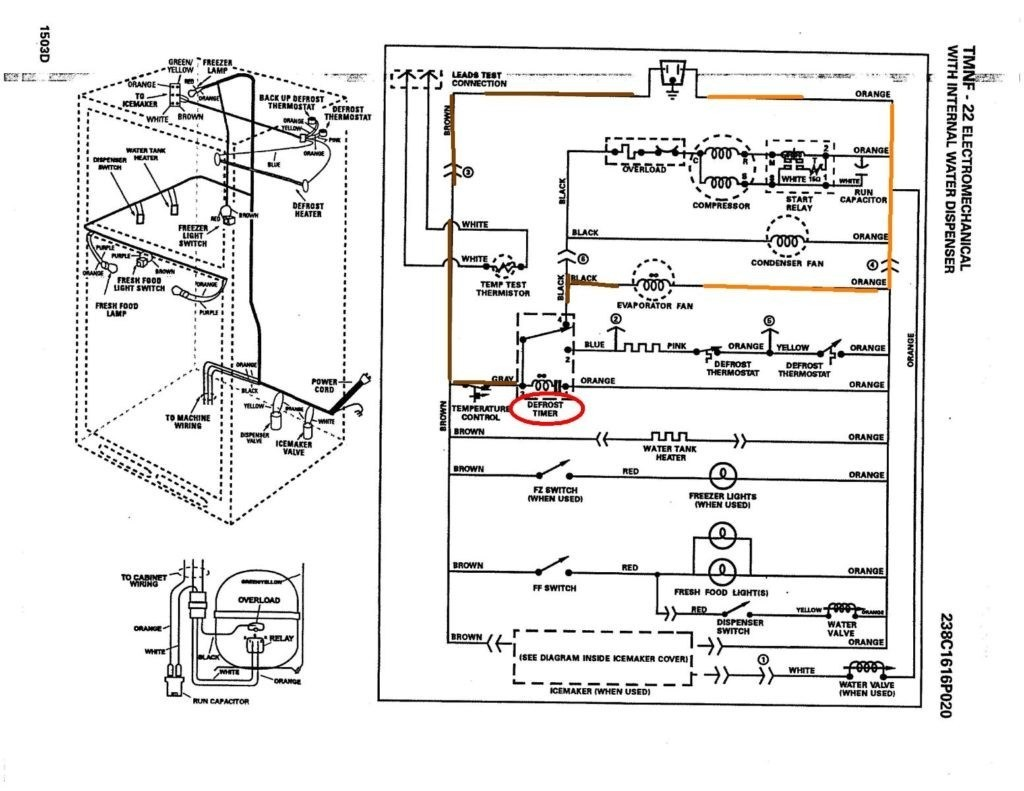 frigidaire zer schematic
