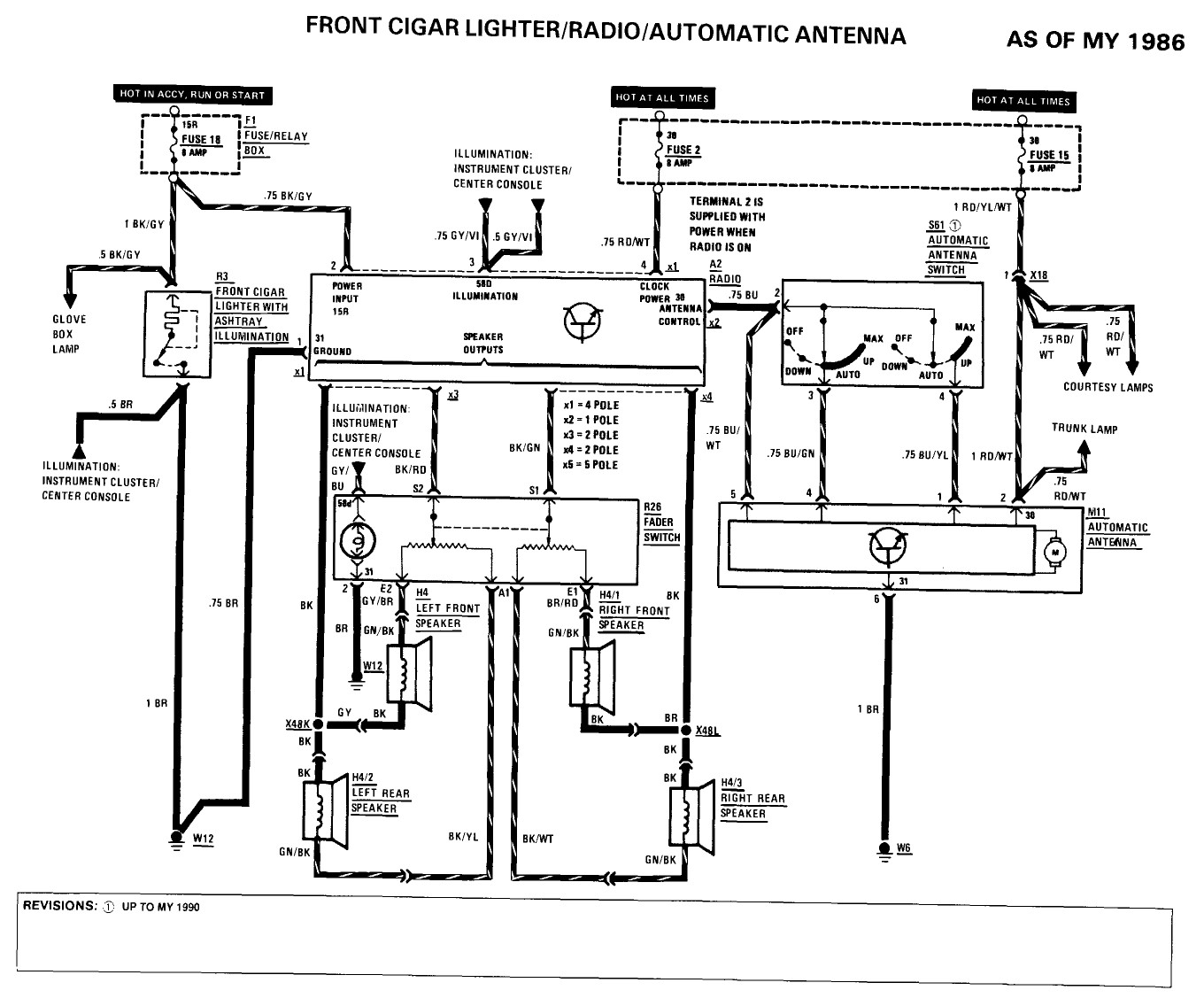 wiring diagram mercedes radio