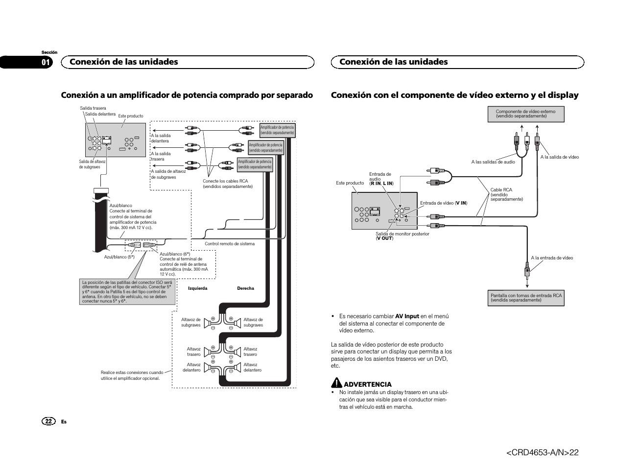 pioneer avh 1600 wiring diagram