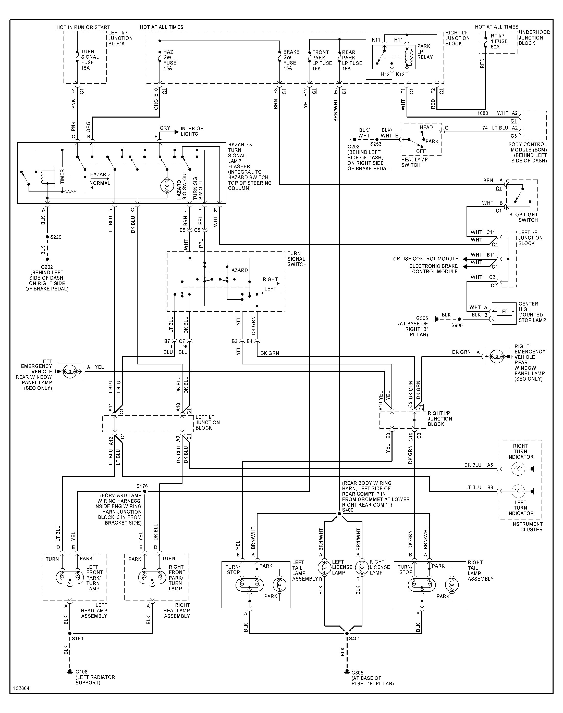 1994 s10 marker light wiring diagram