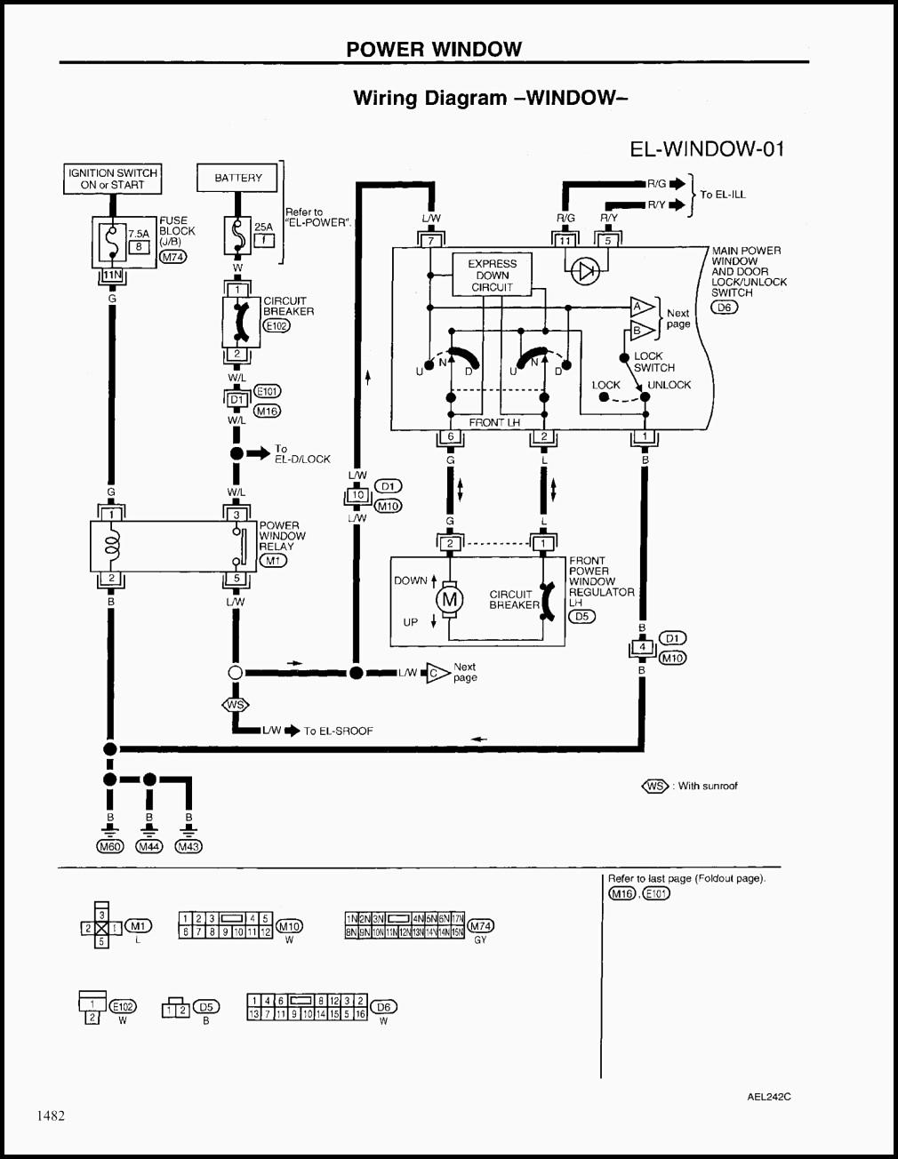 specialty power windows wiring diagram