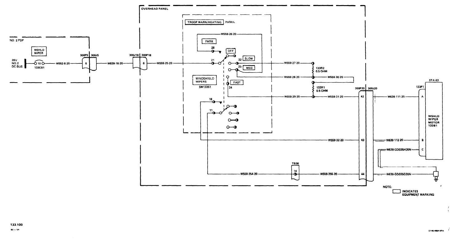 wiper wiring diagram w211