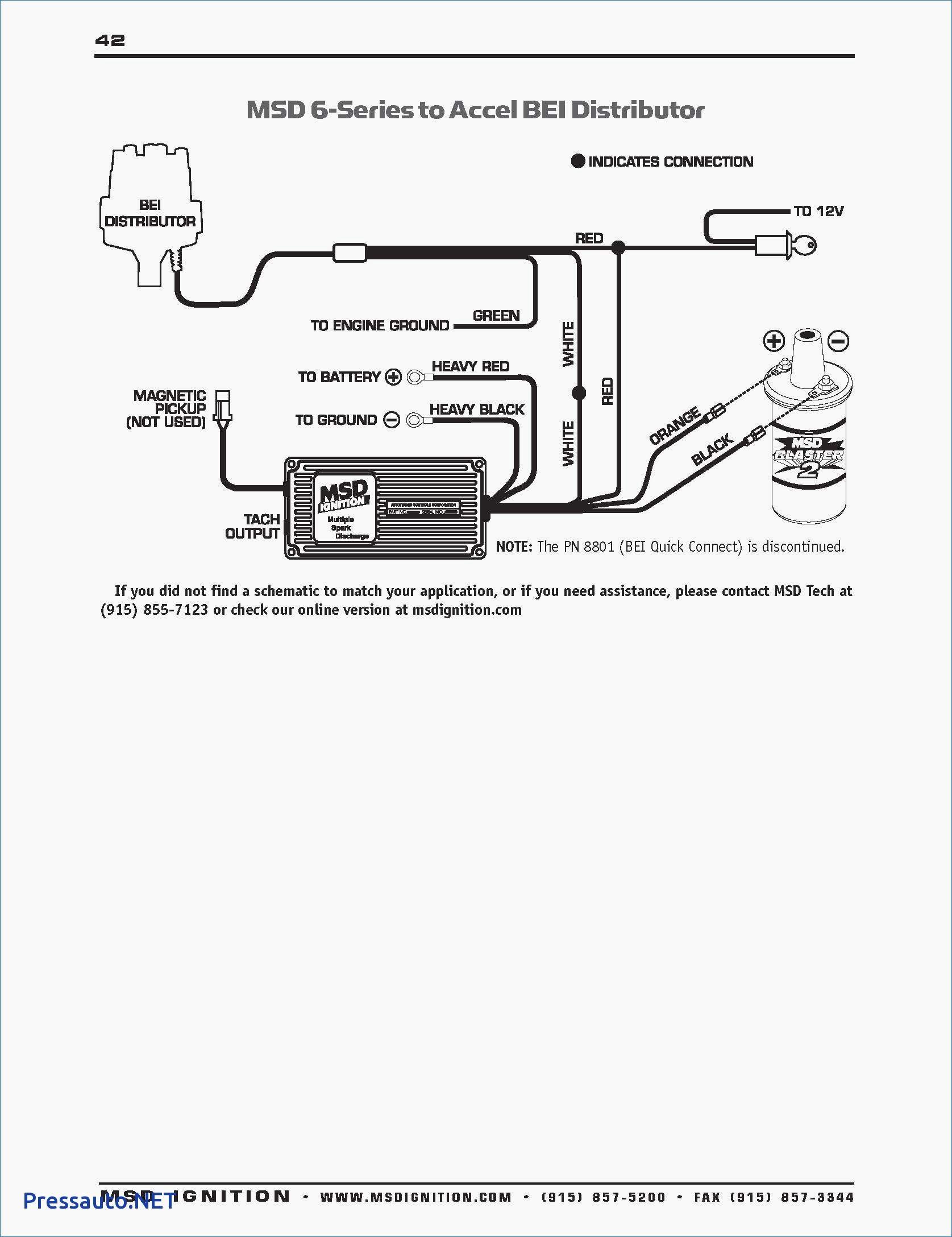msd 6al to hei distributor wiring diagram