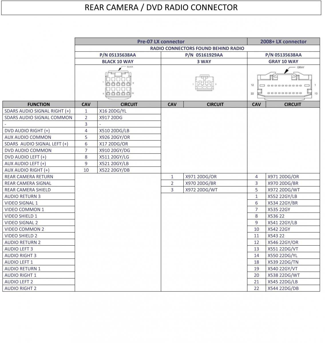2014 chrysler 200 stereo wiring diagram