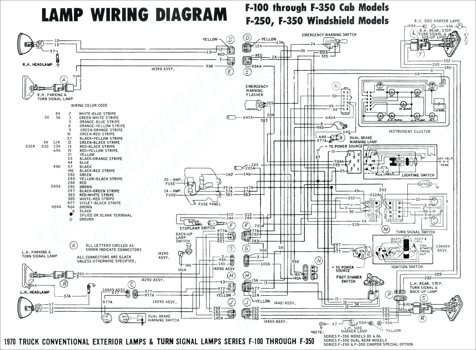 1977 ford f 150 brake light wiring diagram