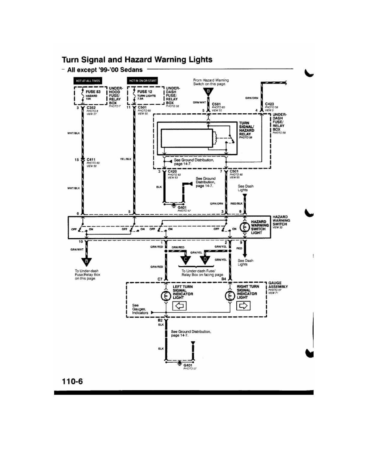 1996 honda civic alarm wiring diagram
