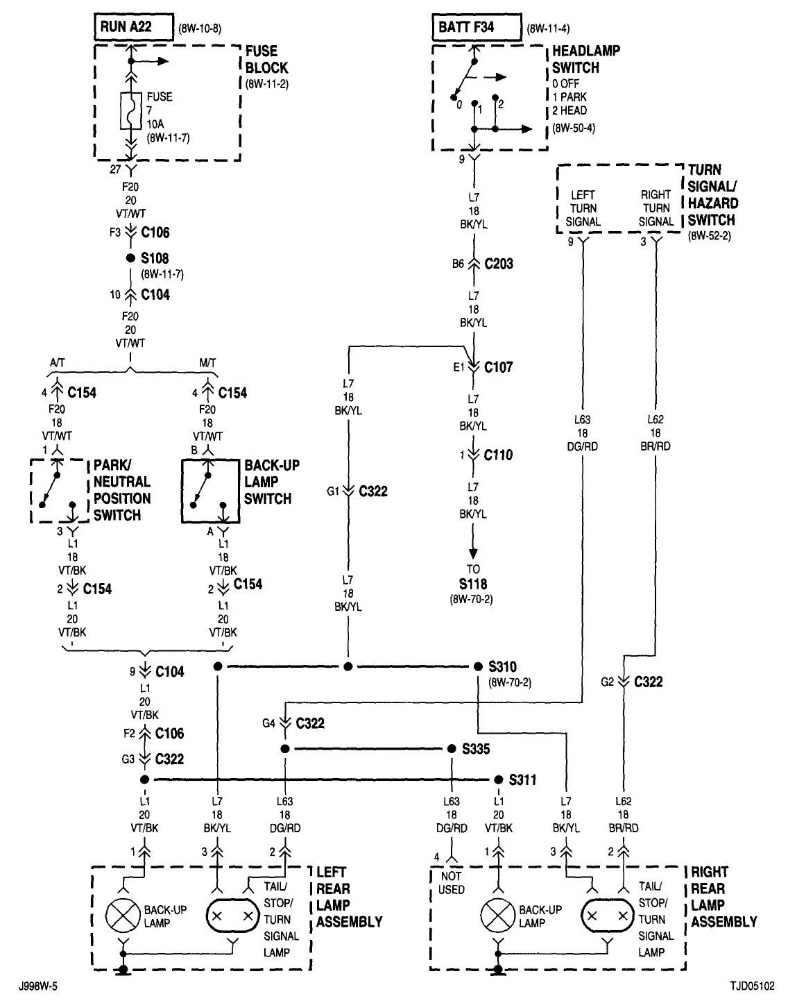 08 grand caravan wire schematic