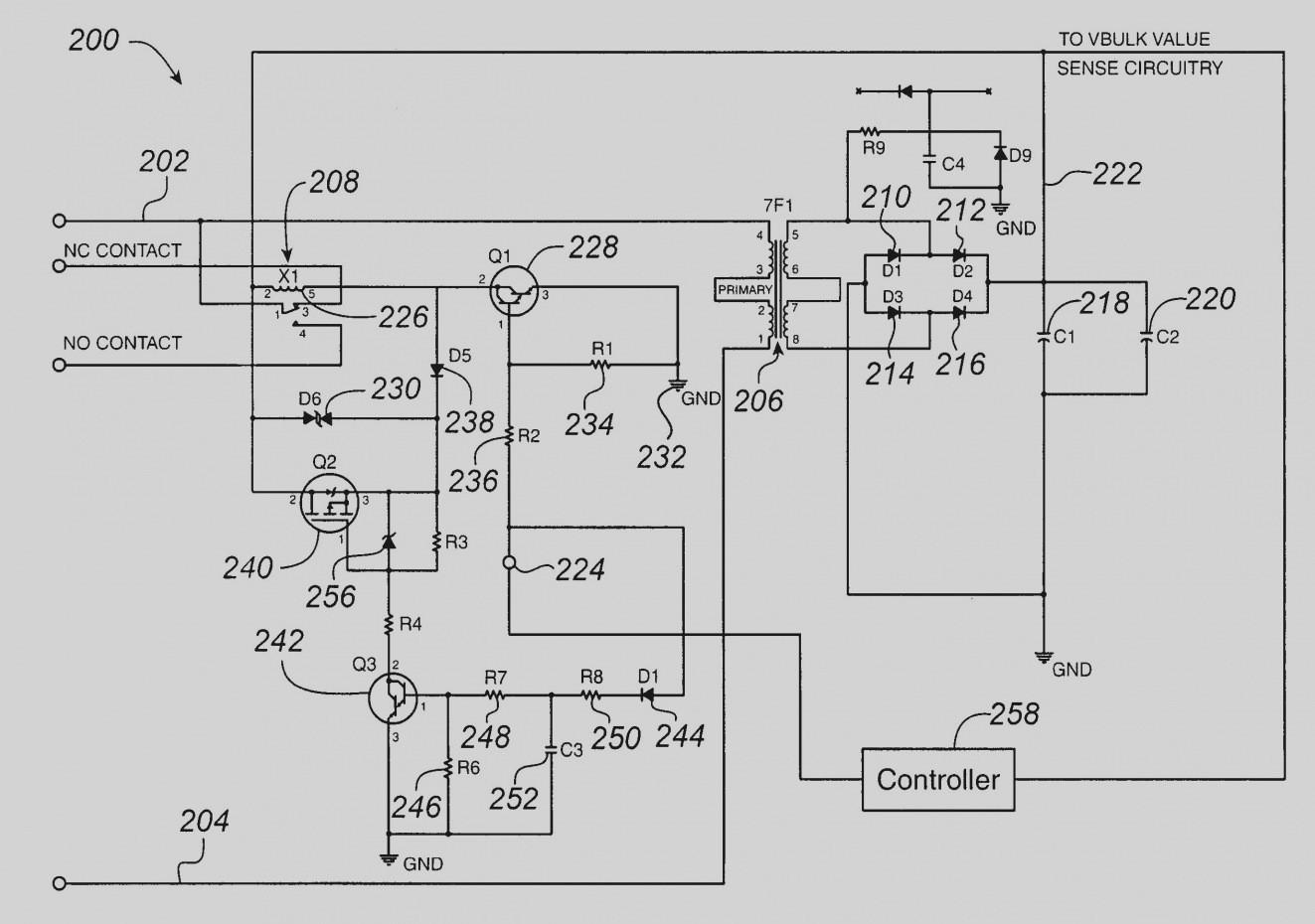 refrigerator relay wiring diagram
