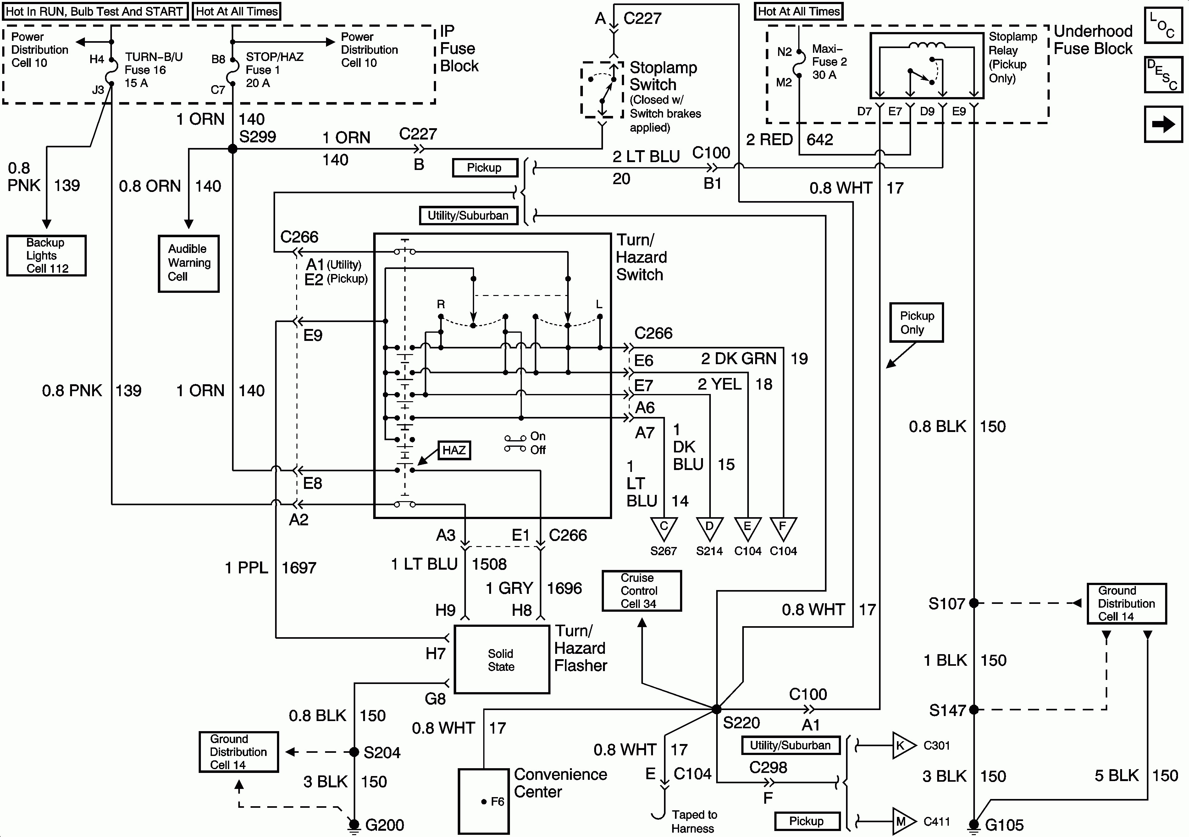 93 chevy suburban radio wiring diagram
