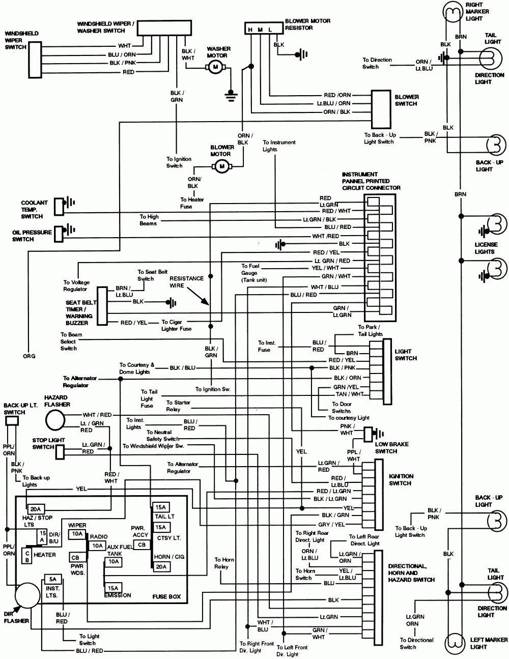 1999 ford 7.3 fuse diagram