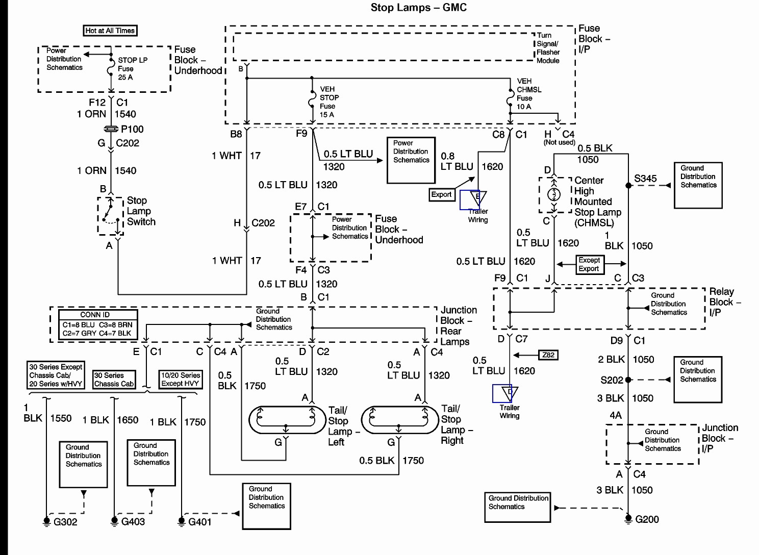 98 gmc 1500 radio wiring diagram