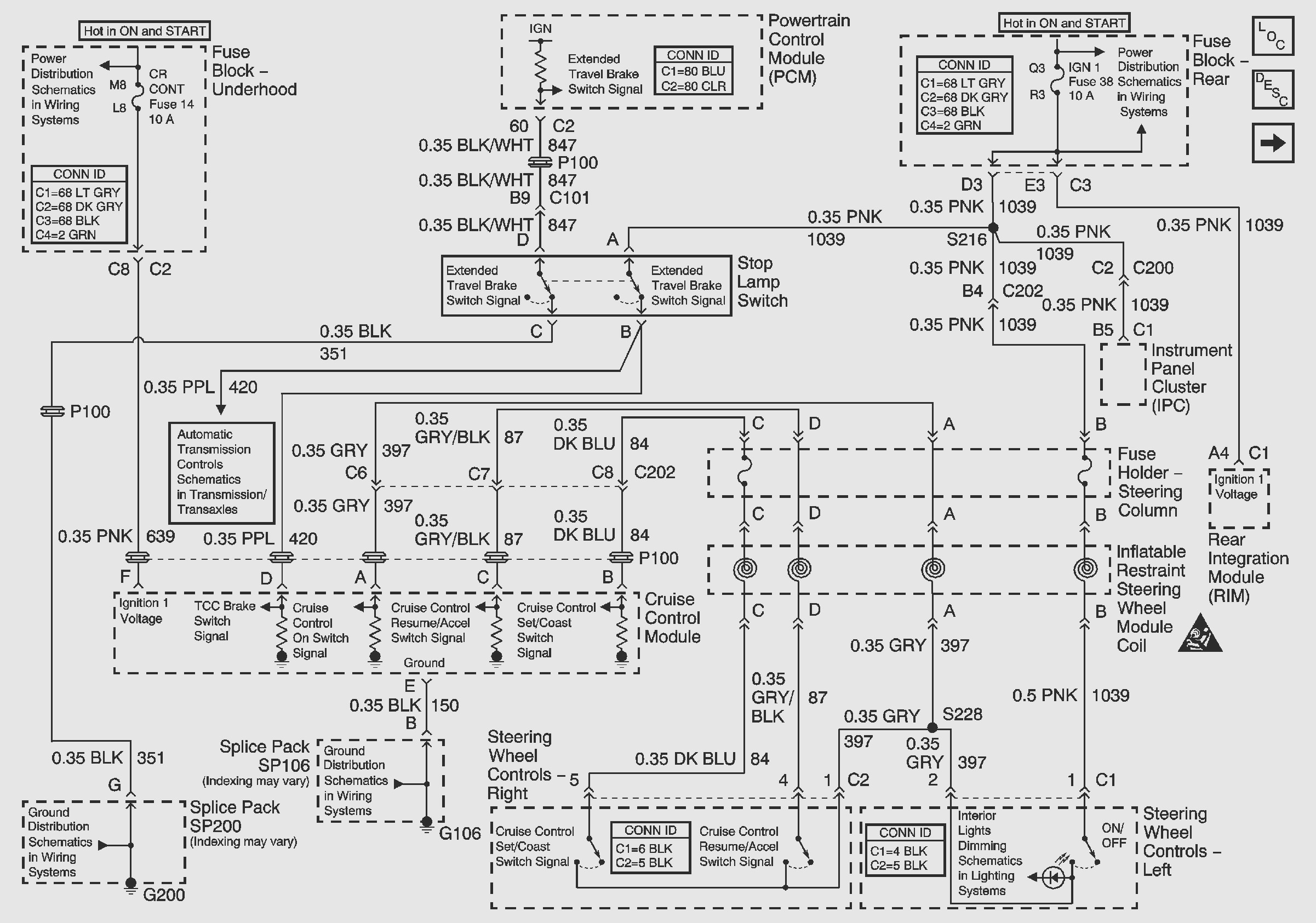 99 park avenue wiring diagram
