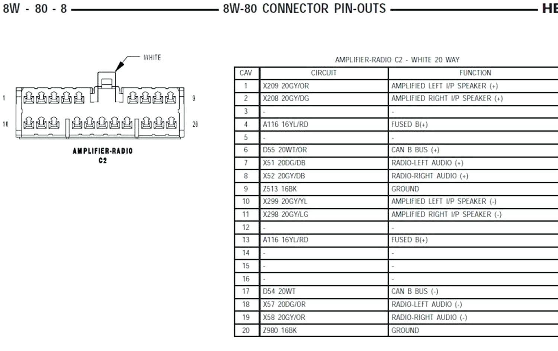 09 dodge caliber radio wiring diagram