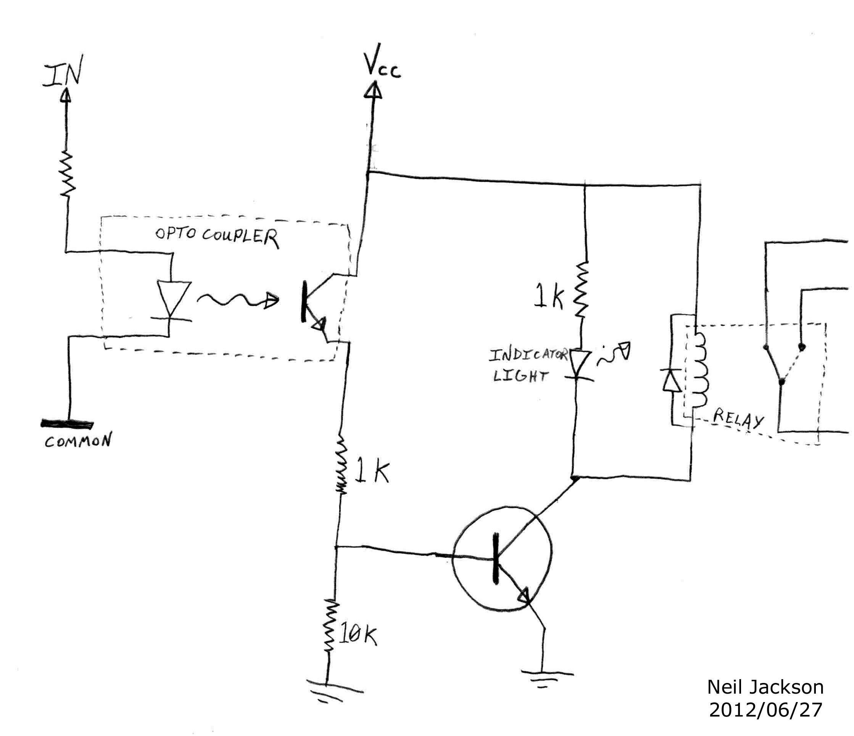 arduino relay control circuit diagram