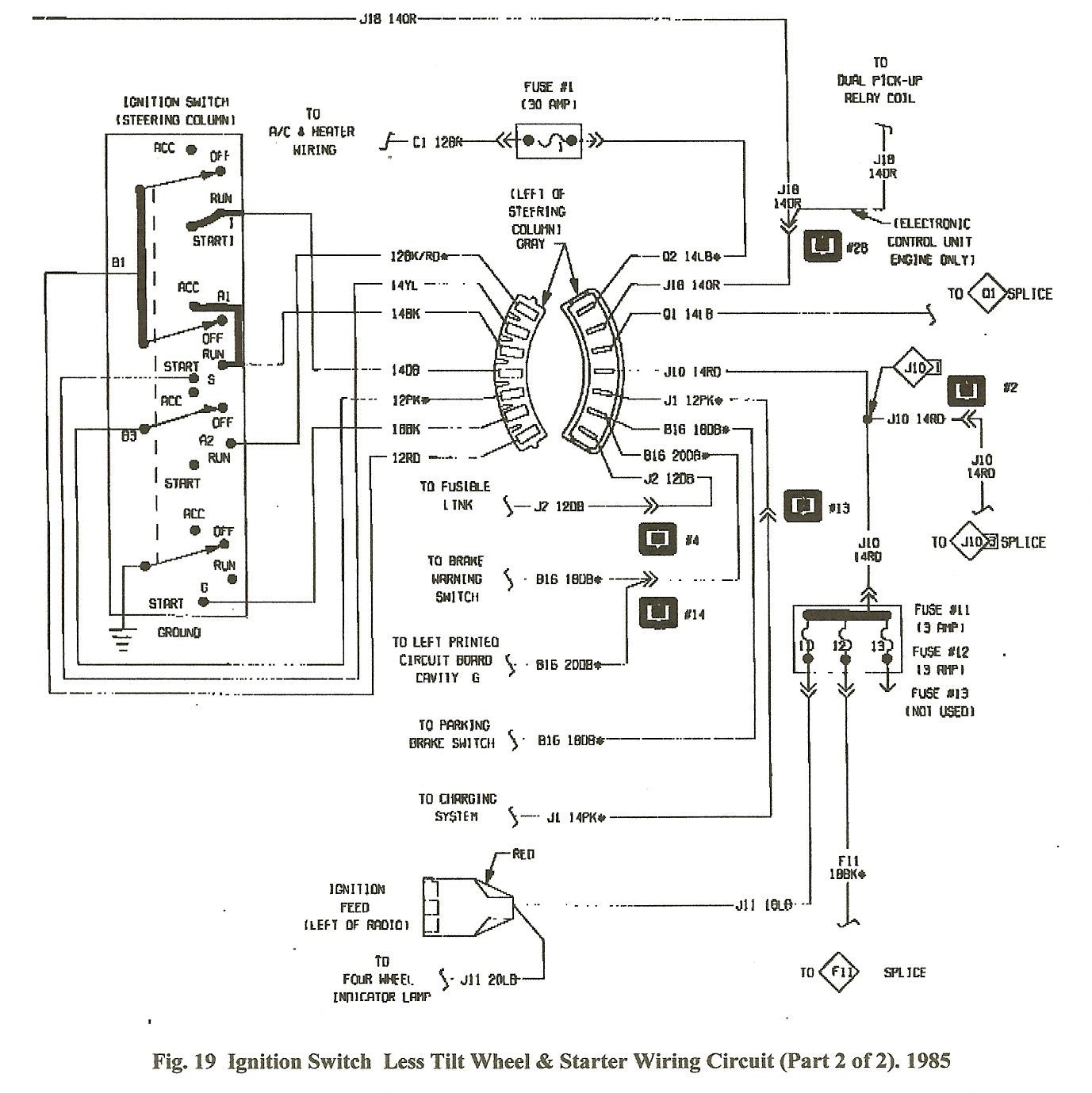 chrysler marine ignition coil wiring diagram