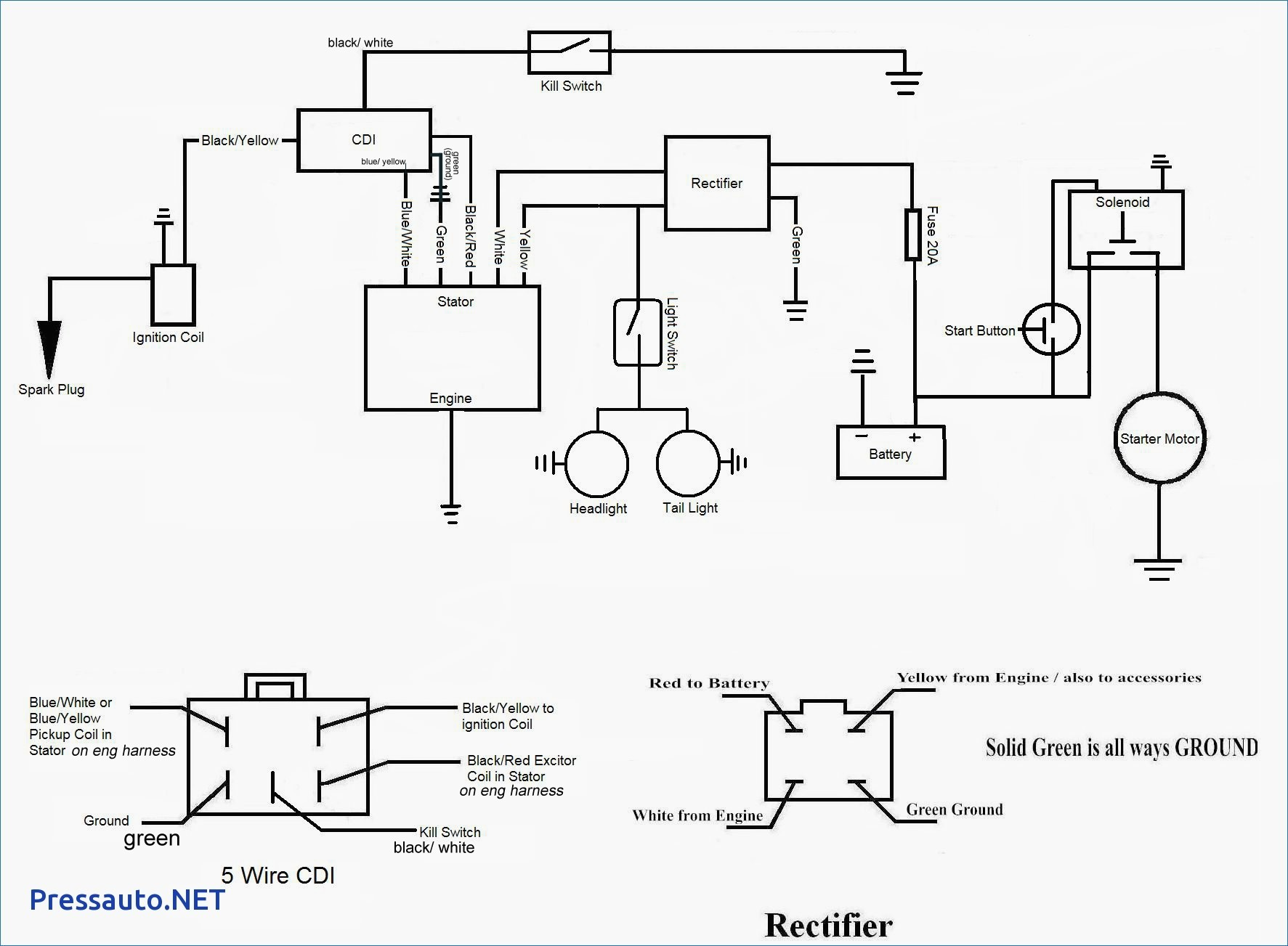 lifan pit bike wiring harness conversion