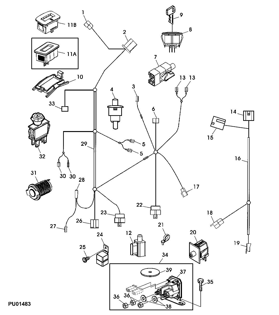 muncie pto wiring diagram electrical actuator