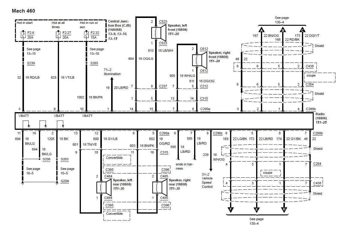 automobile radio wiring diagram