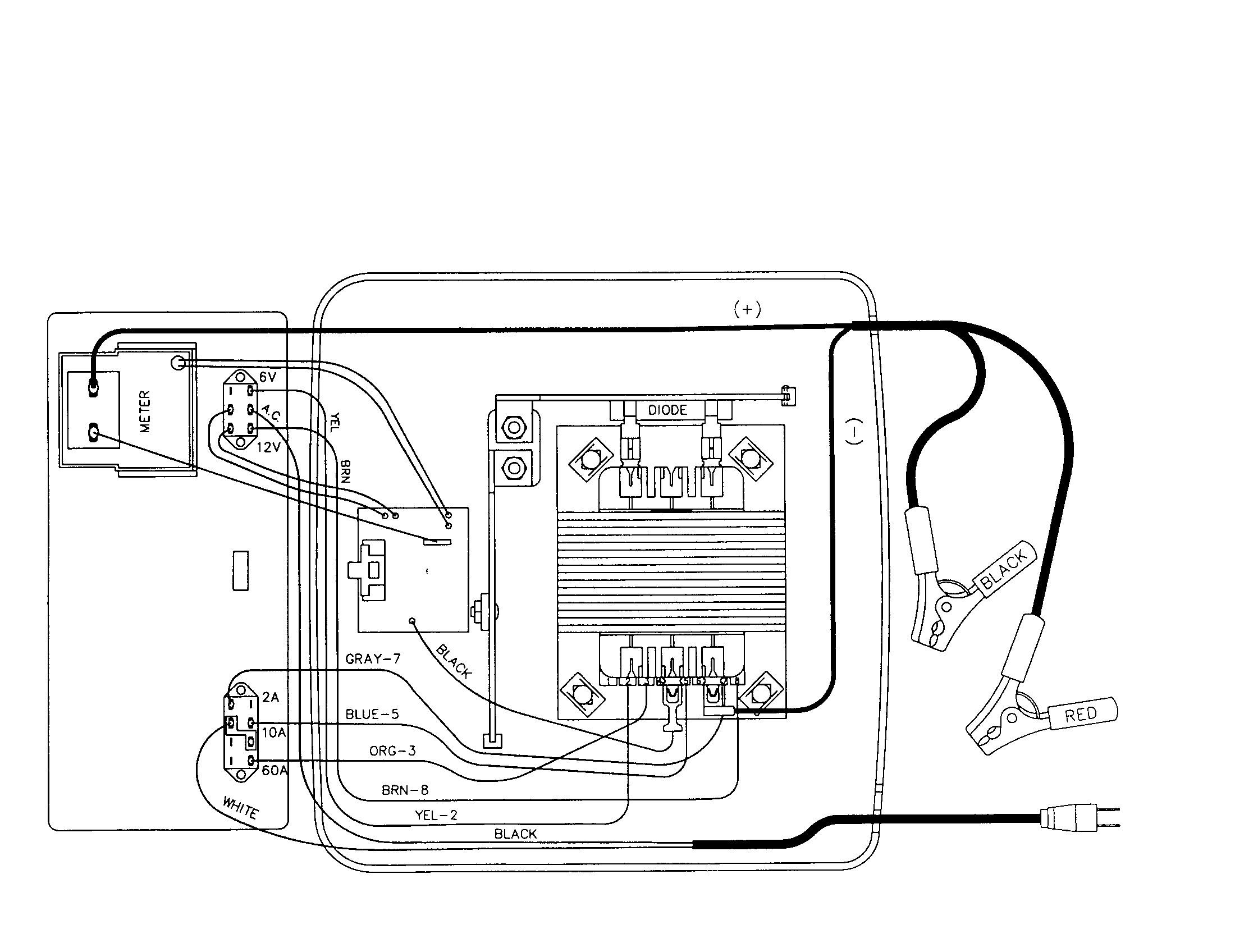 ps3000 schumacher battery charger Schaltplang