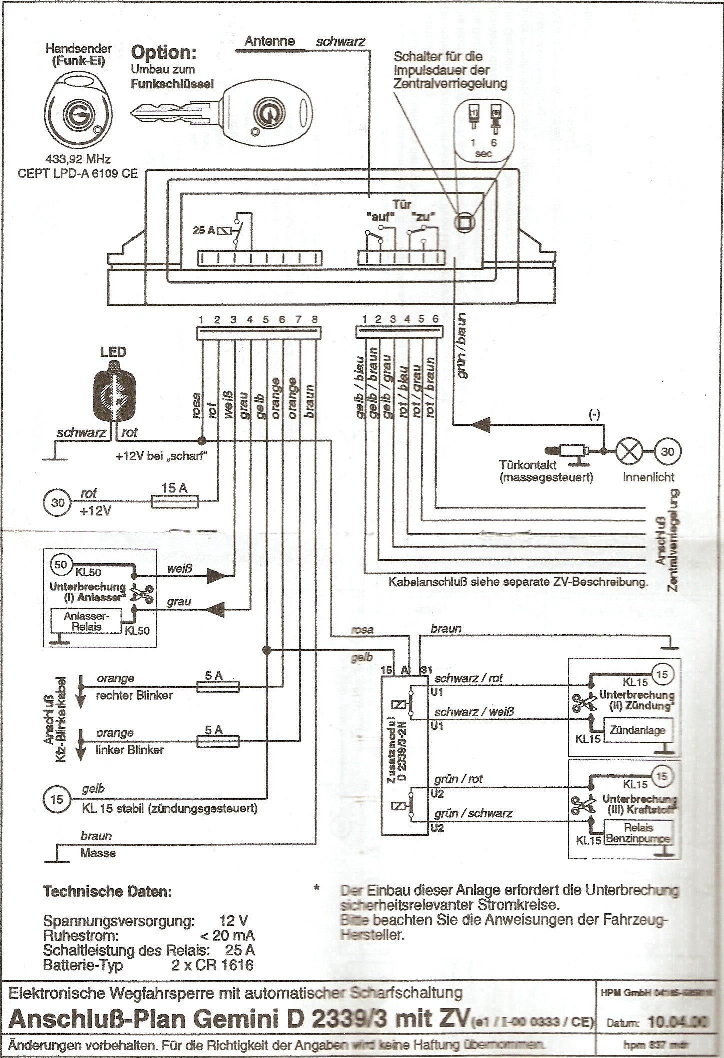 viper 5904 wiring diagram