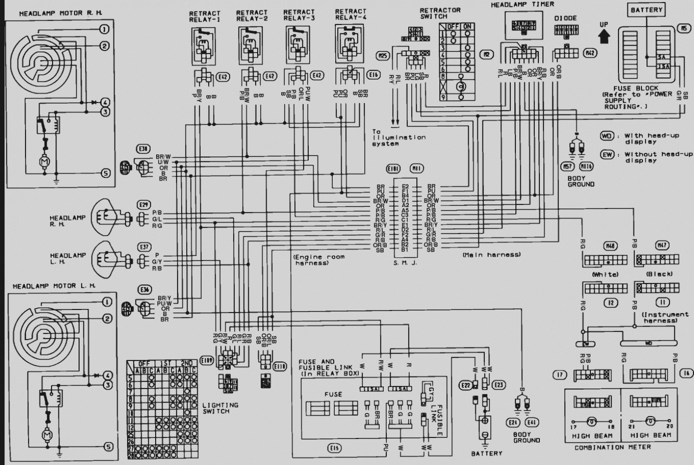 240sx chassis wiring diagram