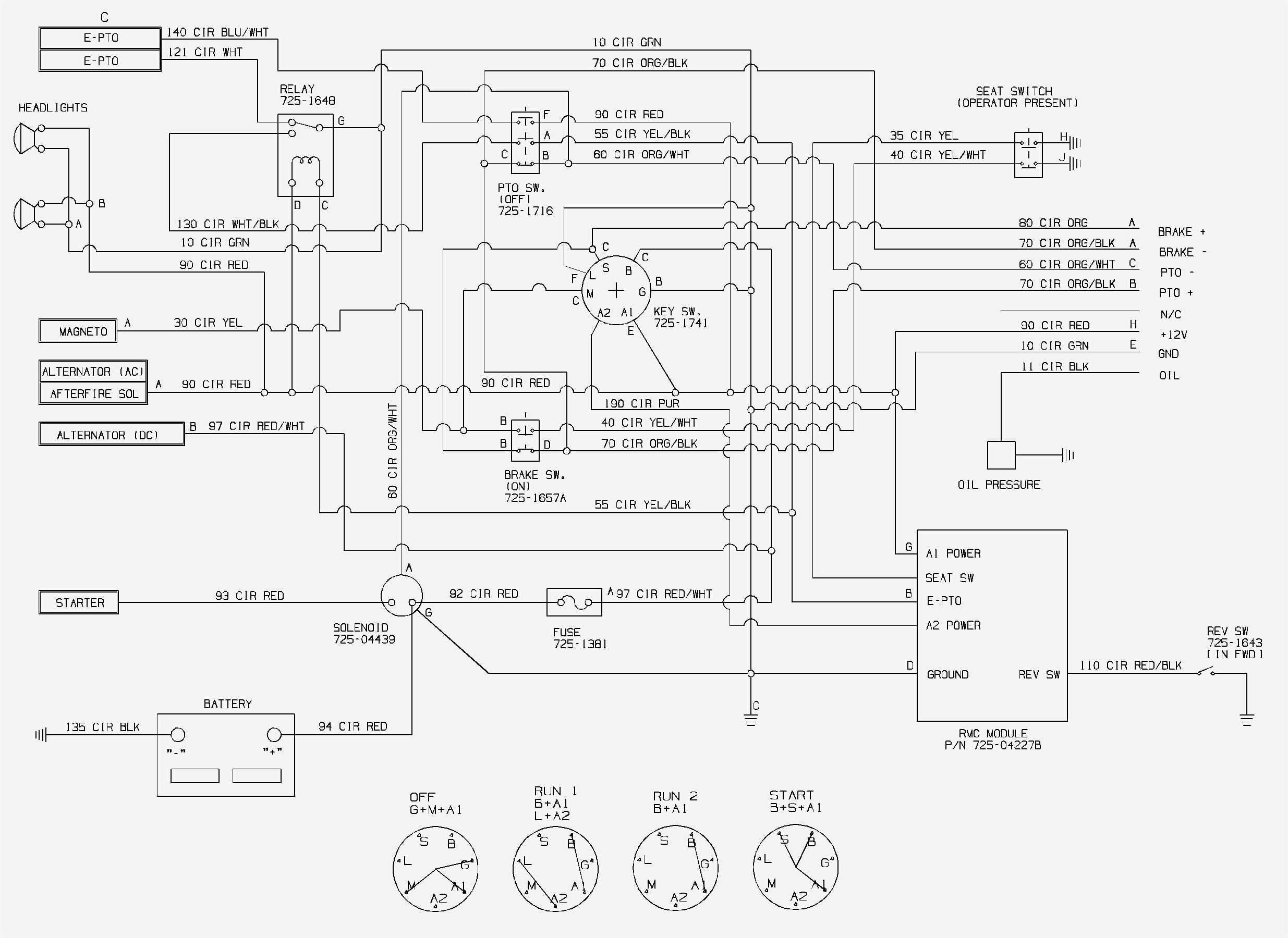 1541 cub cadet wiring diagram manual e books  1541 cub cadet wiring diagram
