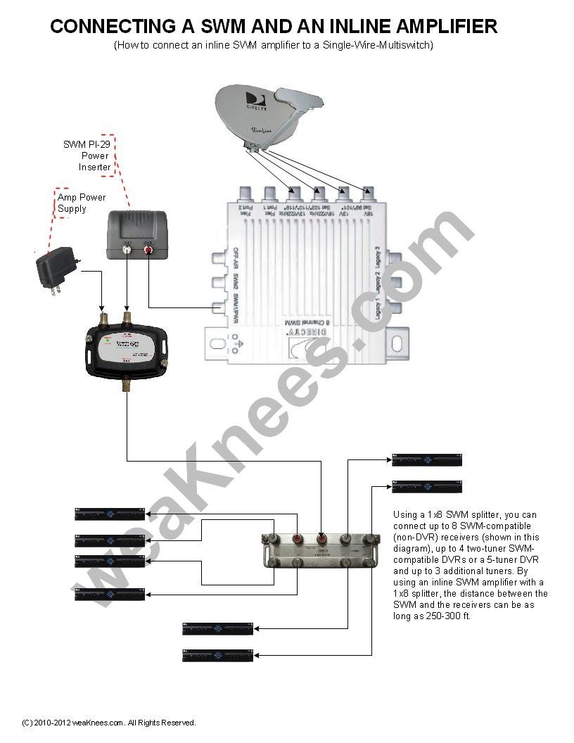 genie wiring diagram directv