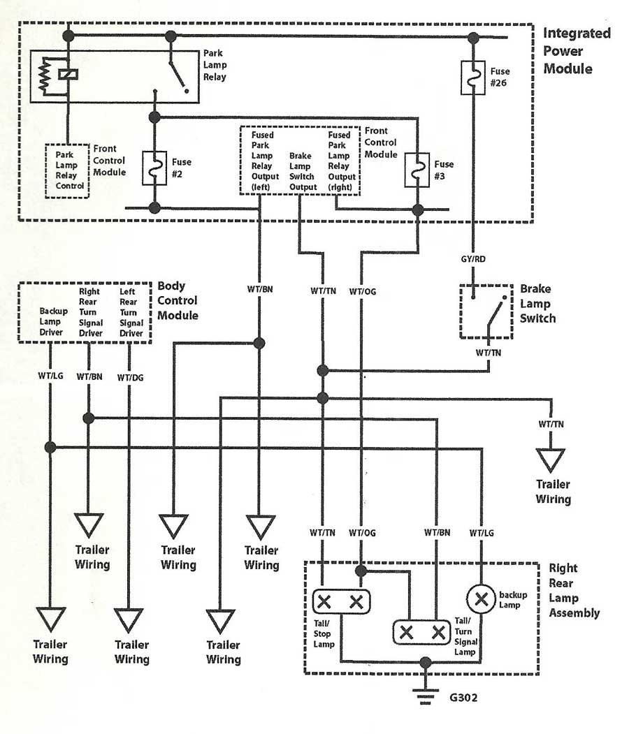 2007 dodge ram 1500 tail light wiring diagram