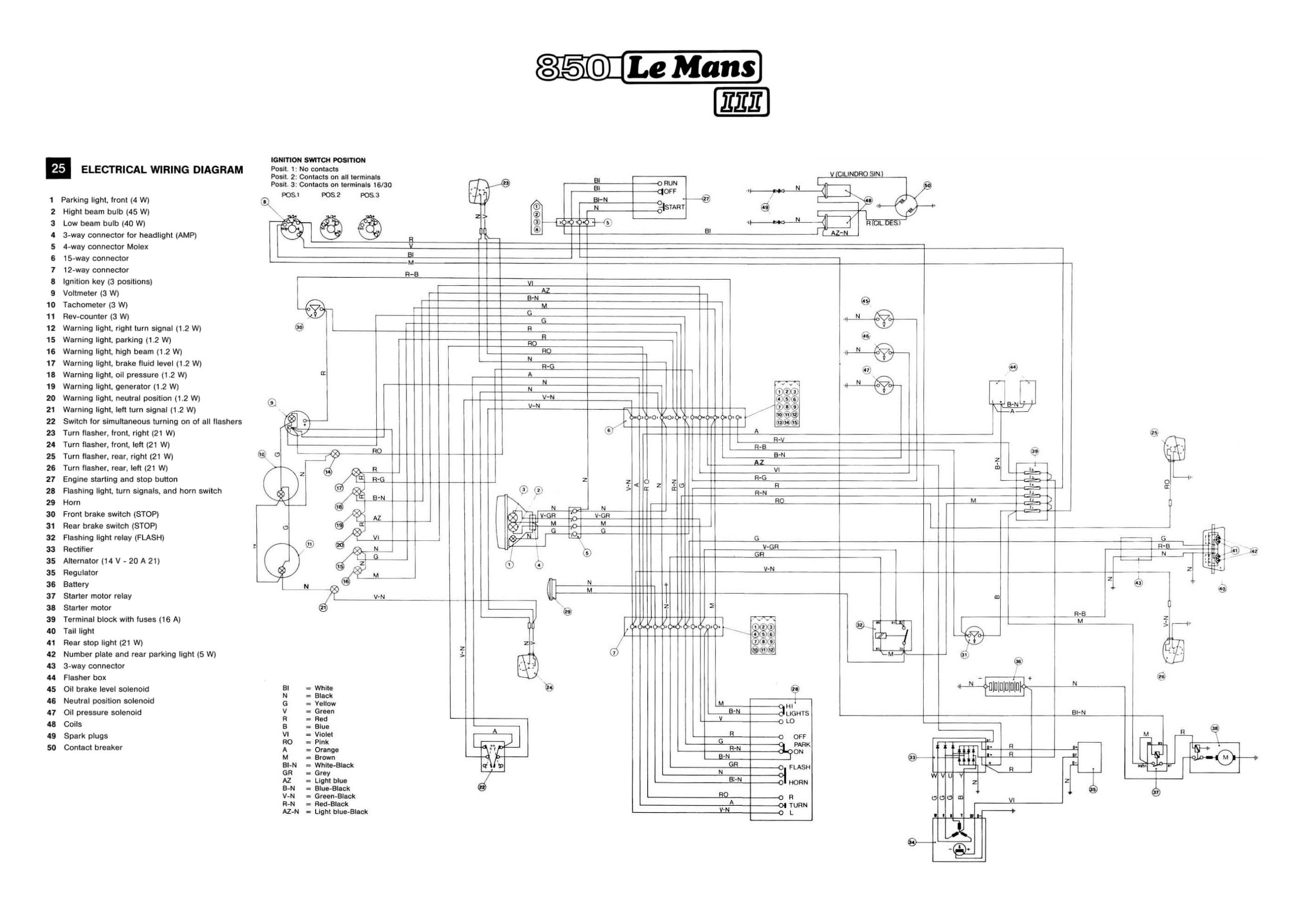 gentex 261 wiring diagram