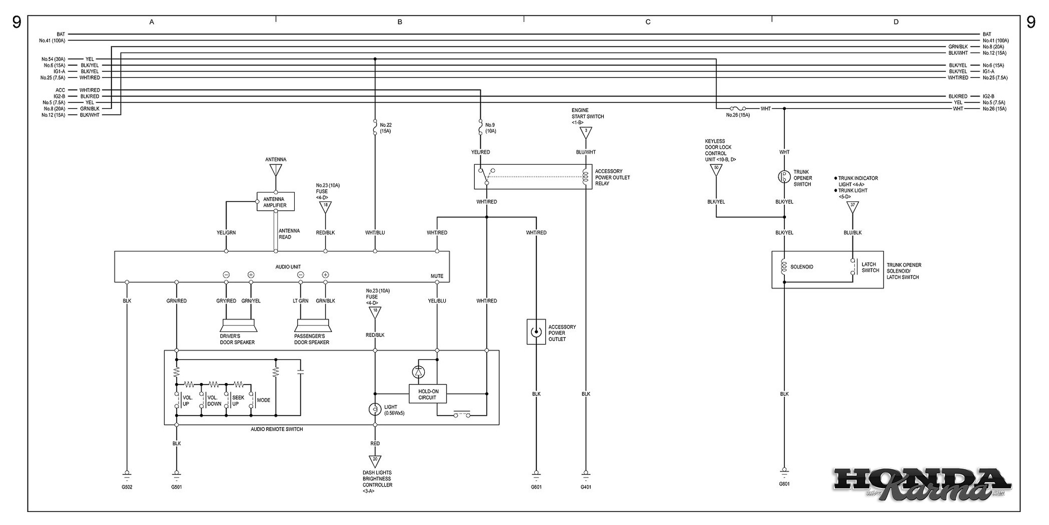gentex 10 pin wiring diagram