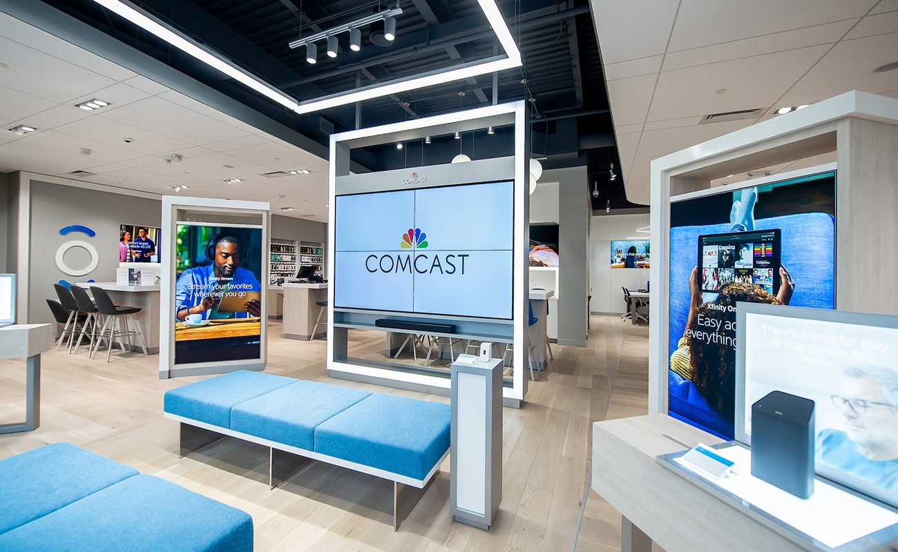 Xfinity Check Out Comcast S New Interactive Xfinity Store And Main Line
