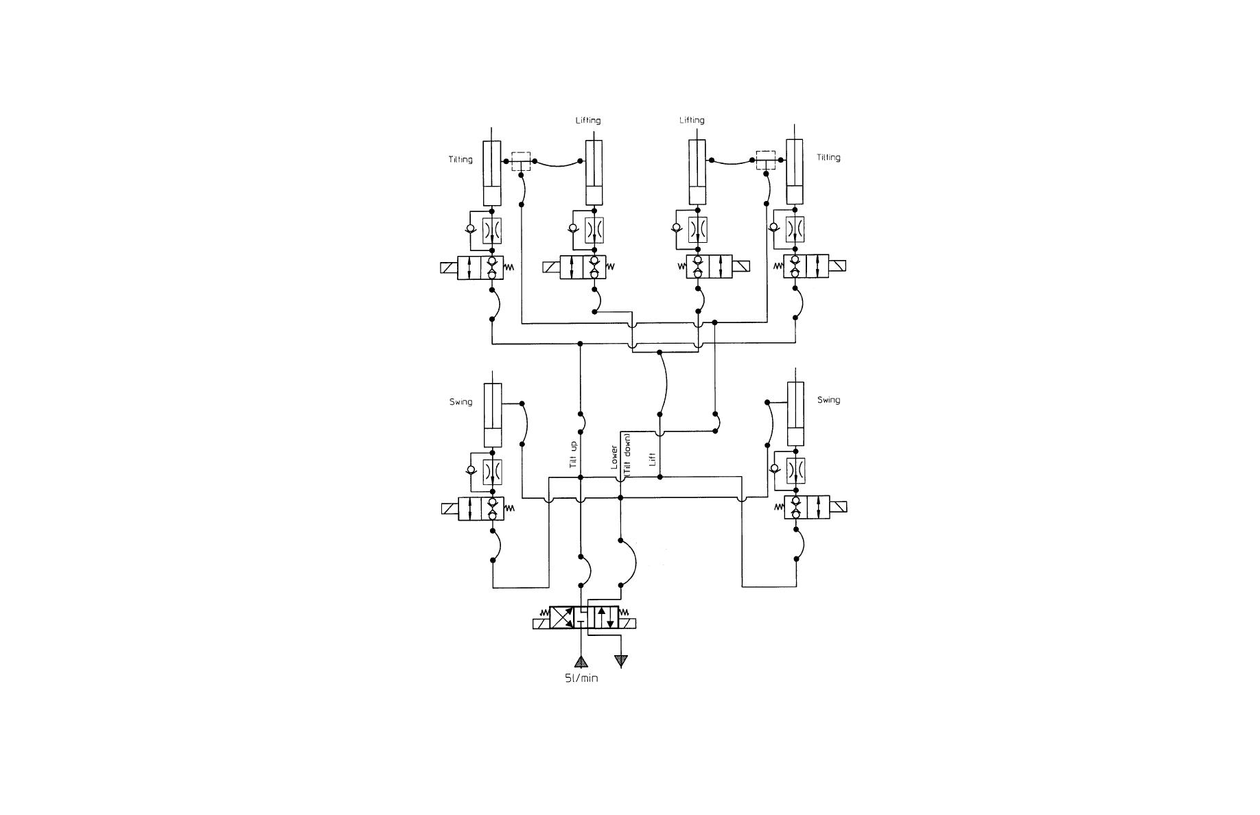 tail lift wiring diagram