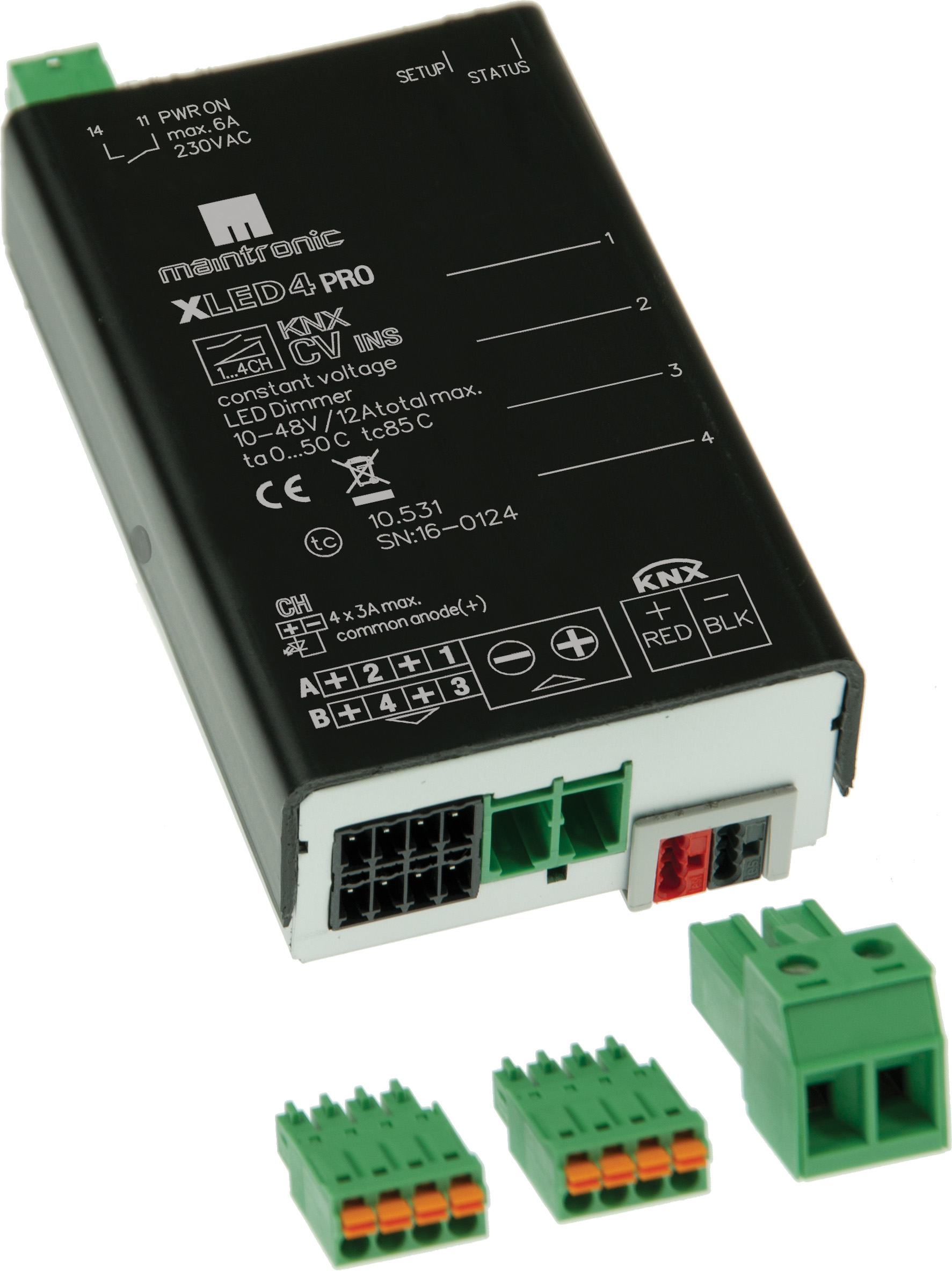 Knx Dimmer Knx Led Dimmer Constant Voltage Mtc Maintronic Gmbh