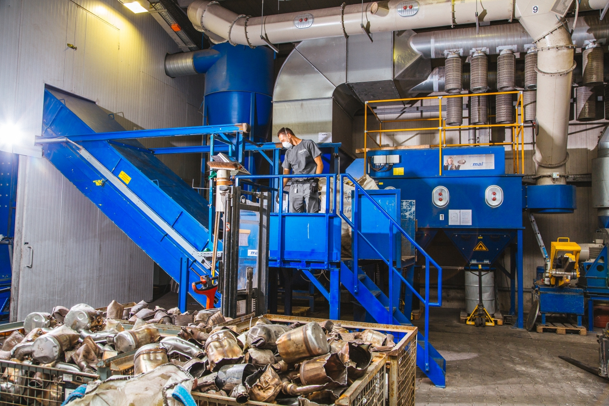 Recycling Bielefeld Mairec Precious Metal Recycling Automotive Catalysts