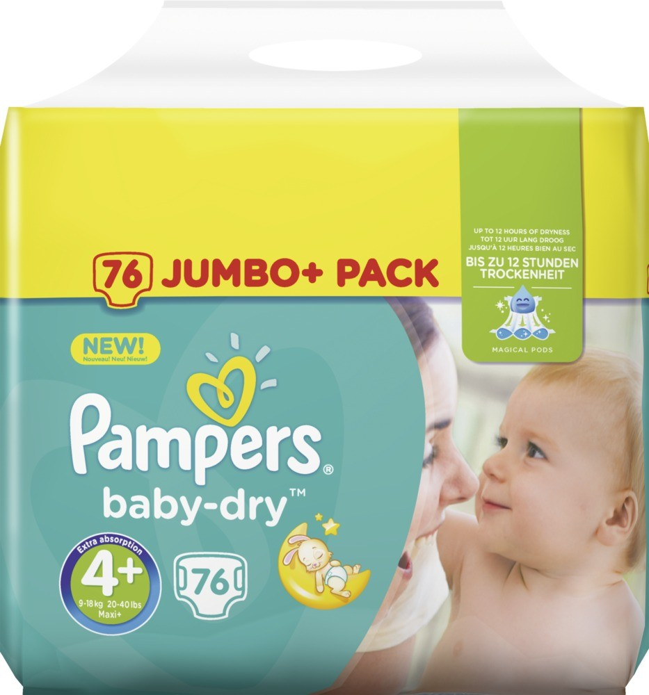 Couche Pampers Prix Couches Pampers Baby Dry Taille 4 76 Couches Maison Et Beauté