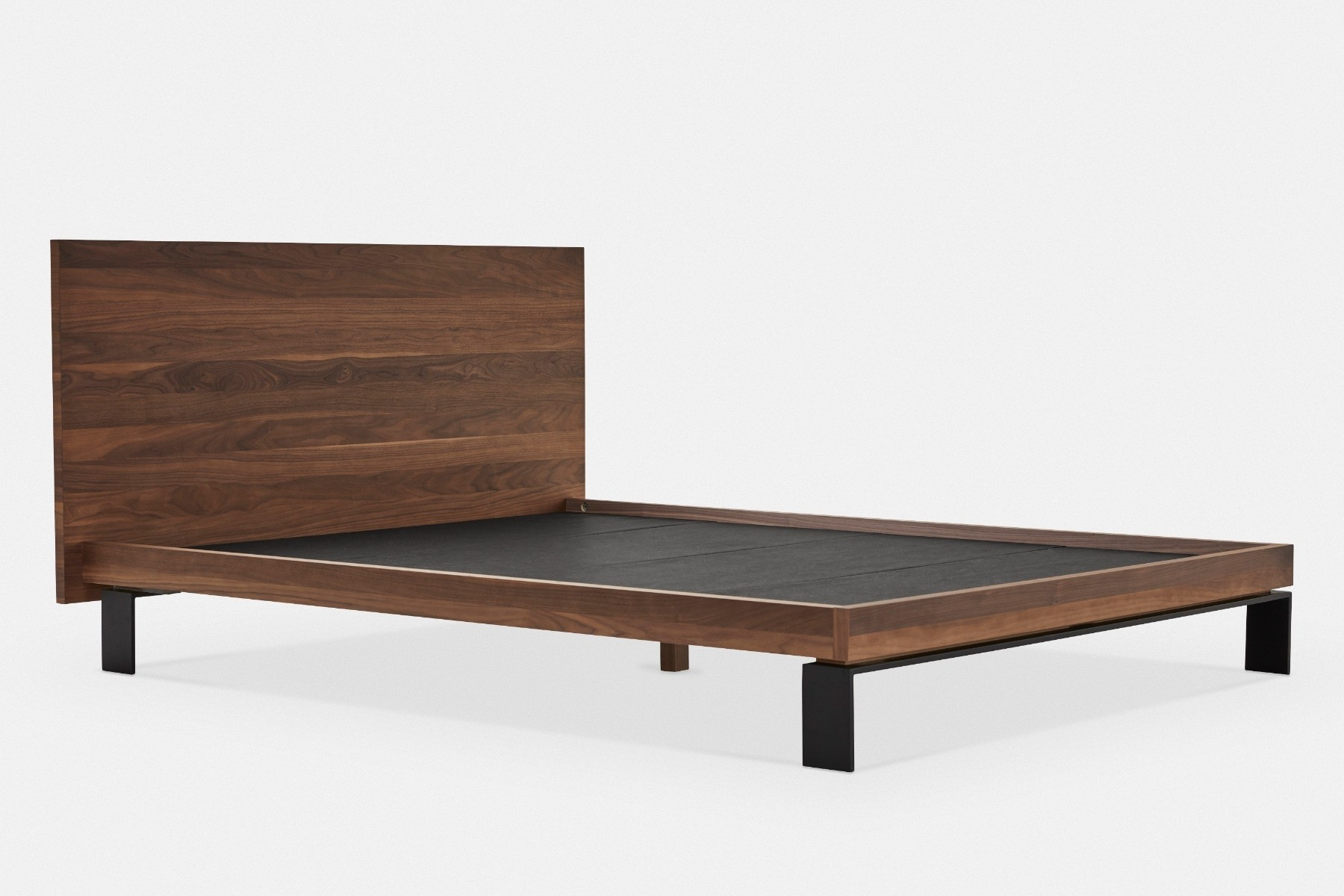 Meubles Mobican Furniture Bora Minimalist Wooden Bed Maison Corbeil