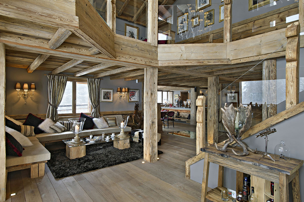 Badezimmer Regal Youtube En Suisse, Un Chalet Authentique Et Tout Confort - Maison