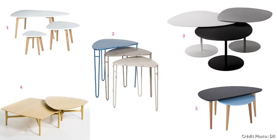 Table Basse Grise Conforama 20 Tables Basses Gigognes à Partir De 59,99€ | Maison Créative