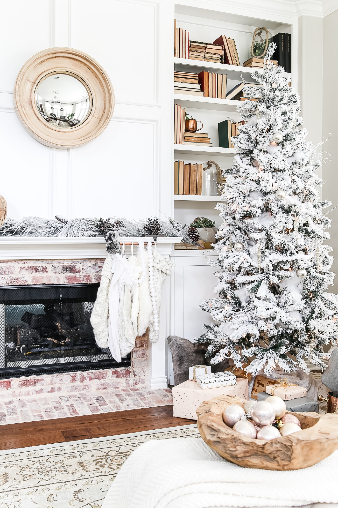 In Home Decorations Simple Holiday Decorating Christmas Home Tour Maison De Pax
