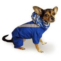 Dog Winter Coat Convertible Jump Suit