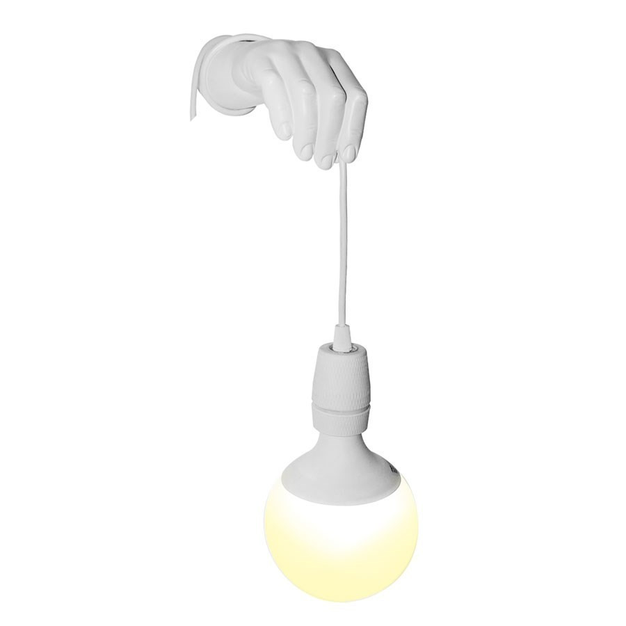 Ampoule Applique Murale Lampe Applique Murale Main Blanche