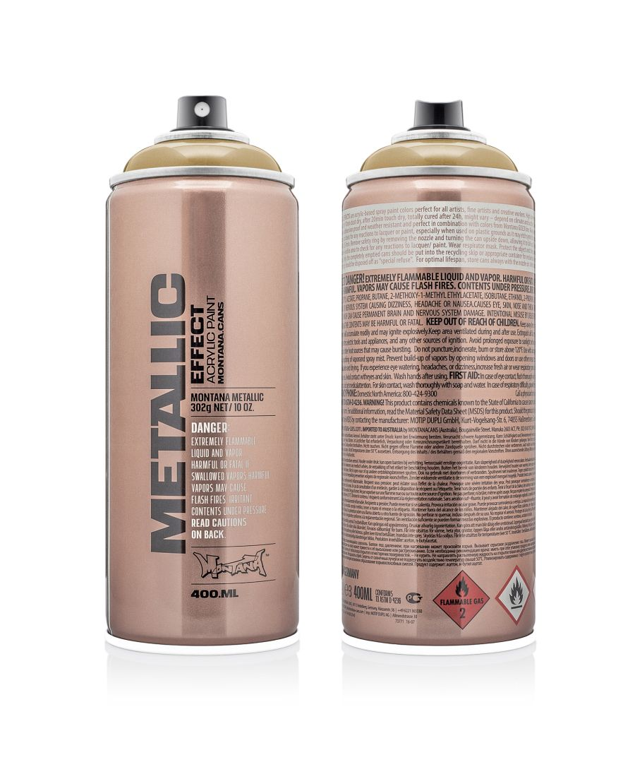 Oranje Spuitbus Montana Metallic Spuitbus Gold 400 Ml Maison Mansion