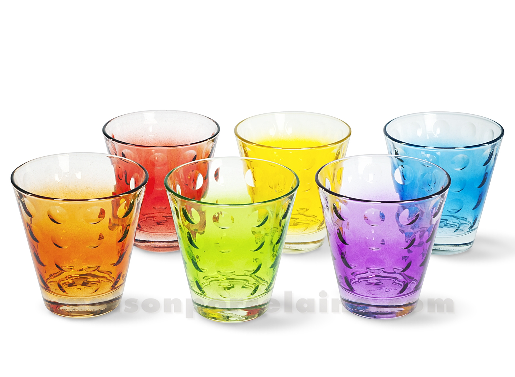 Gobelet A Eau Gobelet Bas Eau Whisky Optic 9x8 5 25cl Set De 6 Verres