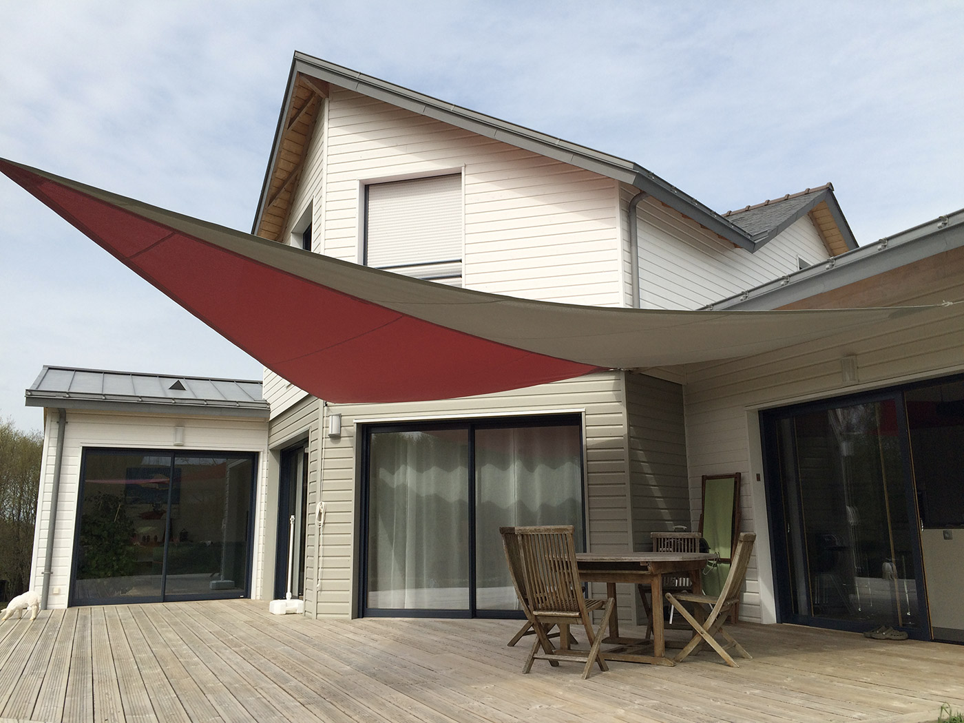 Voile D Ombrage Pour Terrasse Ombrage Terrasse Bois Wraste