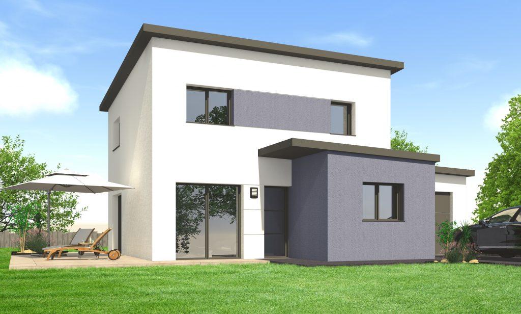 Construire une maison moderne - Maisons Clefs d\u0027Or constructeur Bretagne - Photos De Maison Moderne