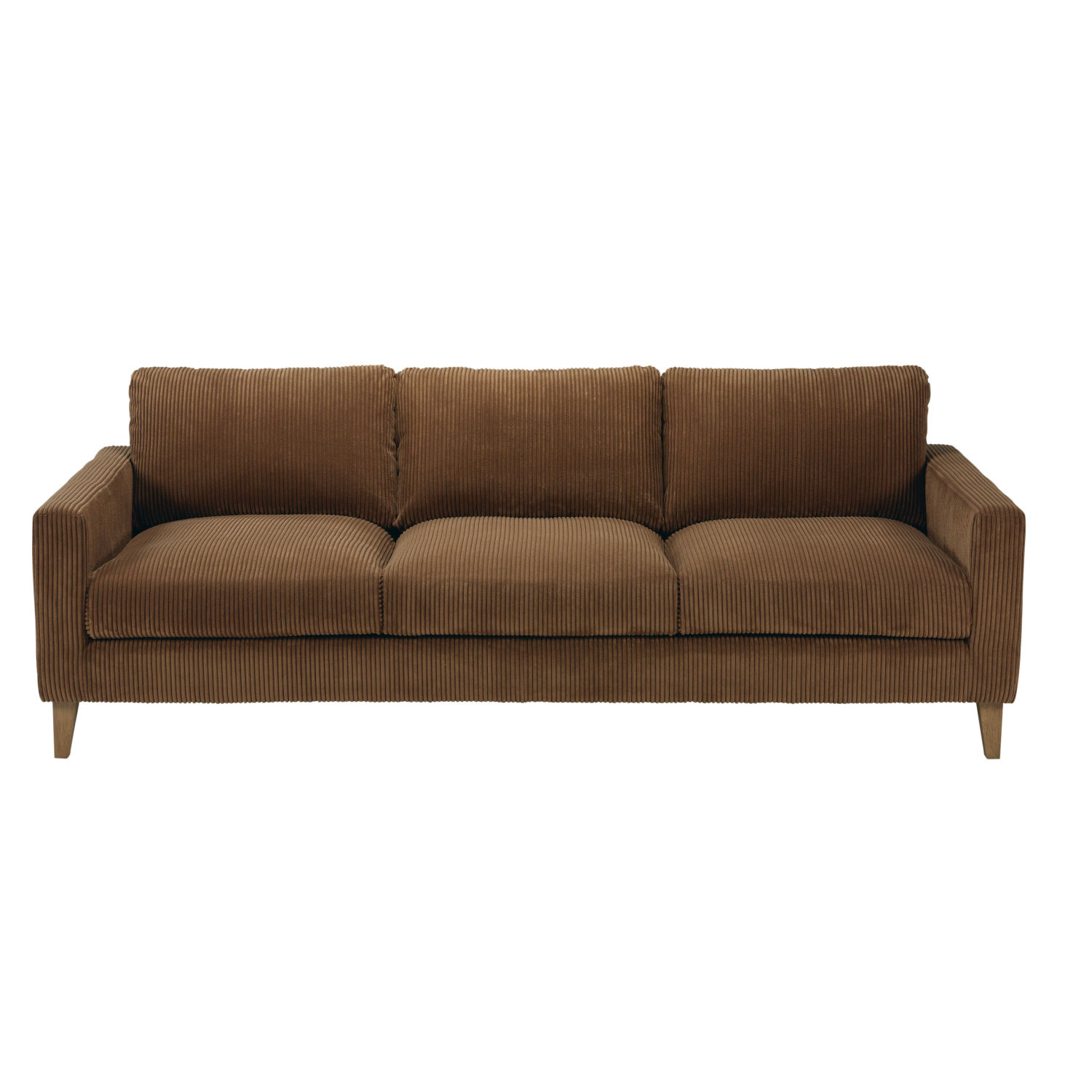 Broyhill Brown Corduroy Sofa Brown Corduroy Couches