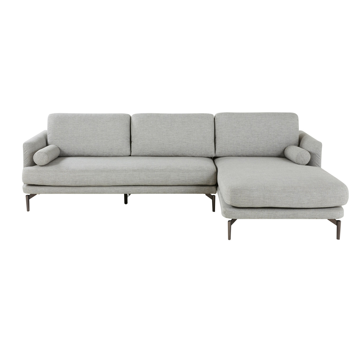 Maison Du Monde Schlafsofa Light Grey 5 Seater Right Hand Corner Sofa Maisons Du Monde