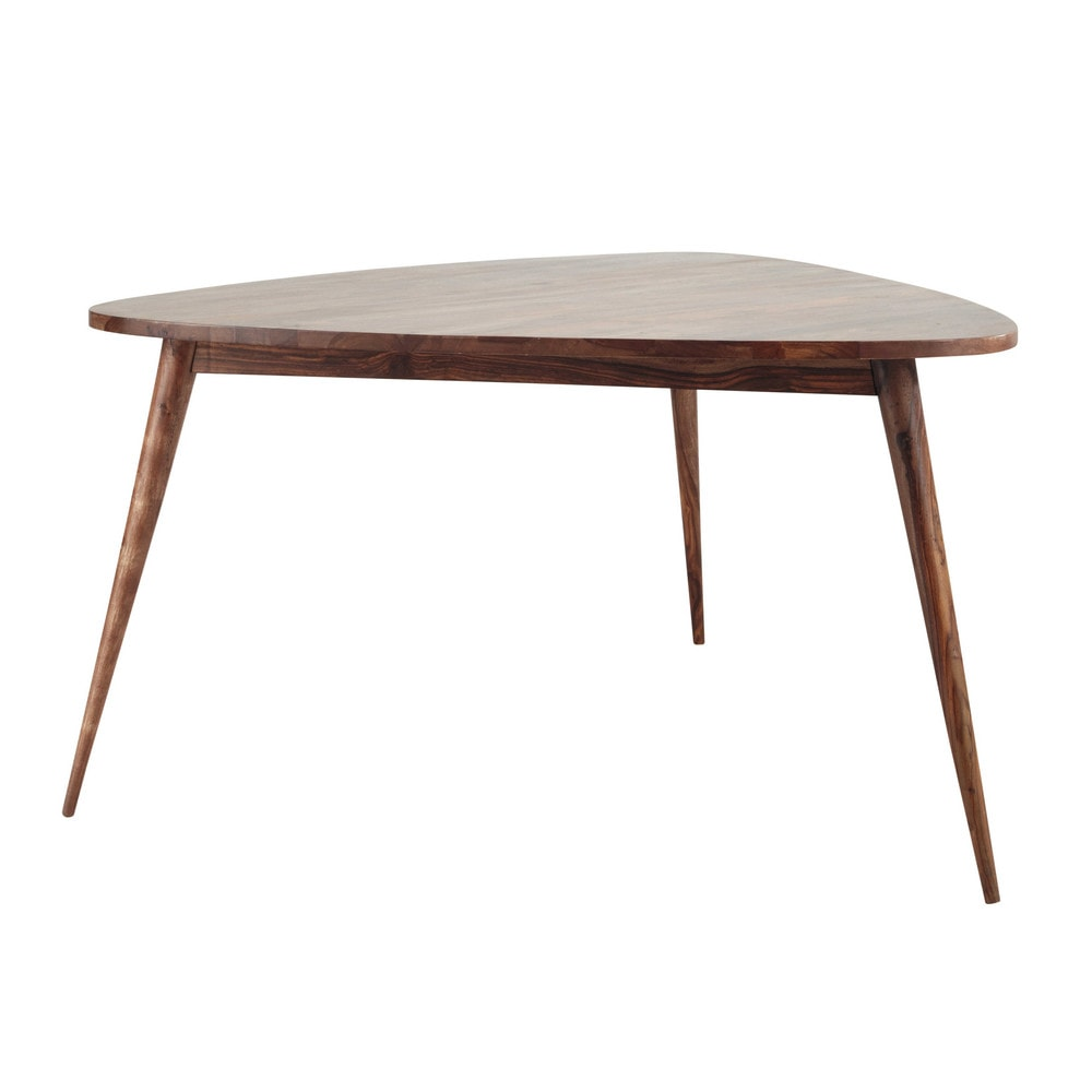 Maison Du Monde Esstisch Solid Sheesham Wood Vintage Dining Table W 136cm Andersen ...