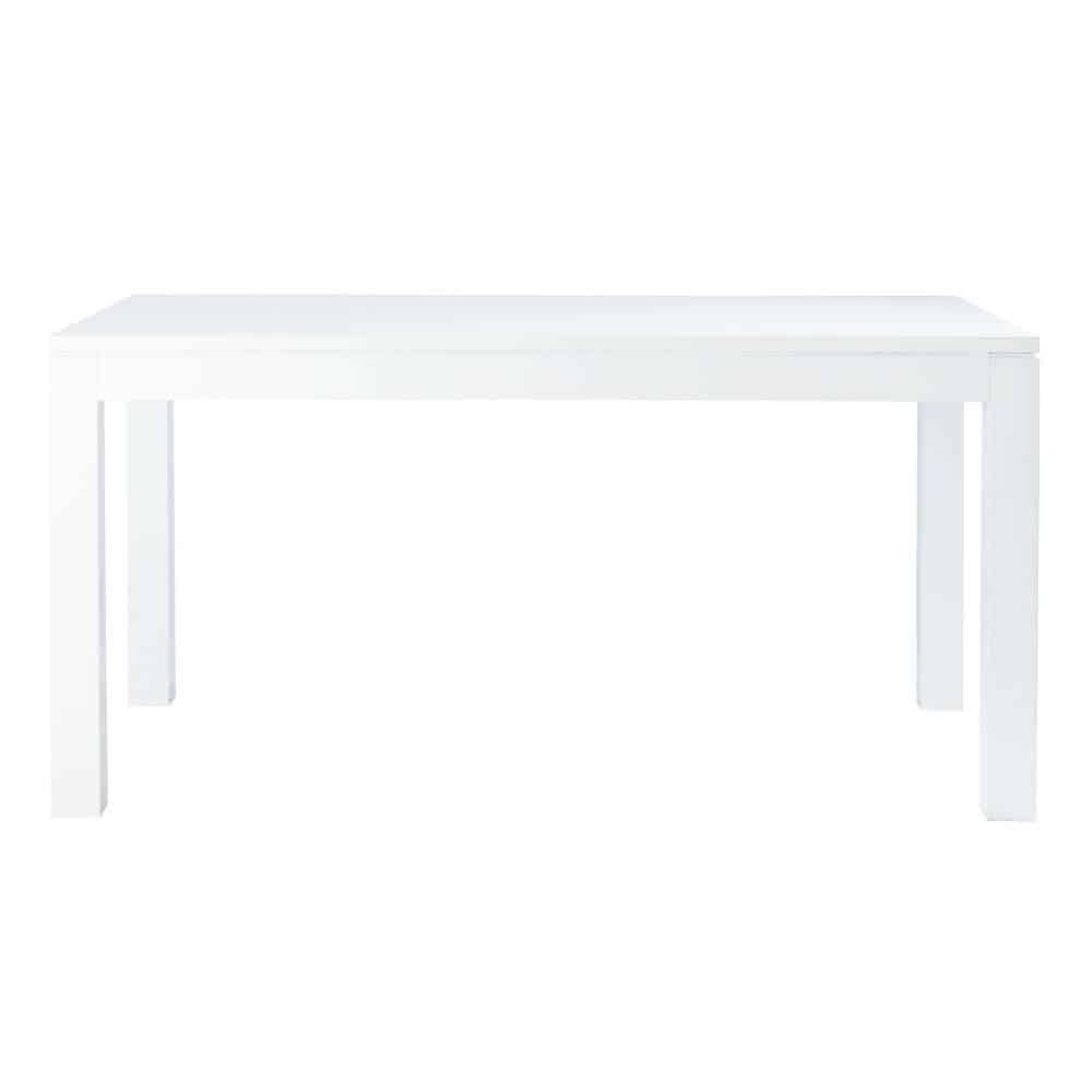Table Laquée Blanc Table Blanc Laqué Table A Manger Ronde Blanche Trendsetter