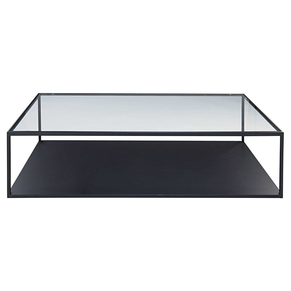 Table Salon Modulable Table Basse Verre Metal Table Salon Modulable Trendsetter